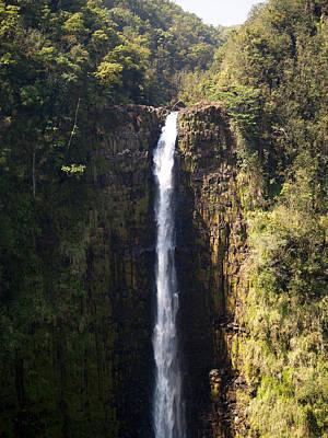 Island Waterfalls Poster