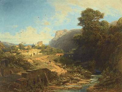 Italian Landscape Poster by Celestial Images