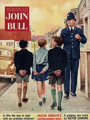 John  Bull 1957 1950s Uk Police Poster by The Advertising Archives