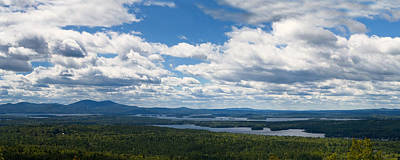 Lake Winnipesaukee Panorama Poster