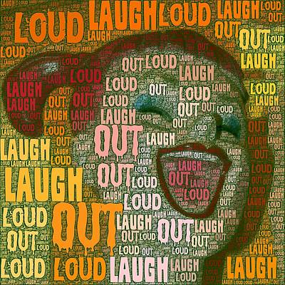 Poster featuring the photograph  Laugh Out Loud  by Linda Weinstock