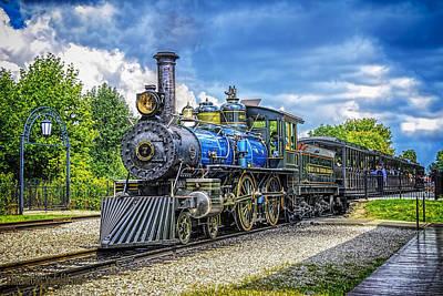 Locomotive Steam Poster