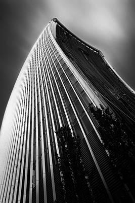 London Walkie Talkie Skyscraper Poster by Ian Hufton
