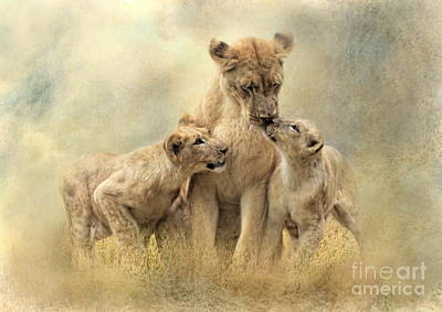 Mamma Poster by Trudi Simmonds