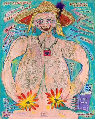 Menopause Ripenings   Poster by Marlene Robbins