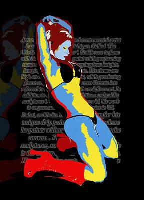 MJ Poster by Artist Singh
