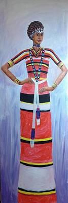 Oromo Lady Poster