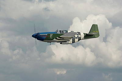 P51 Mustang Gallery - No1 Poster by Pat Speirs