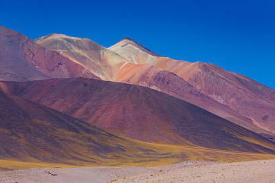 Painted Atacama Poster