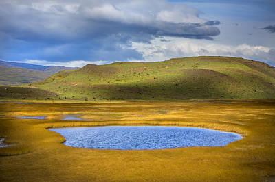Patagonian Lakes Poster