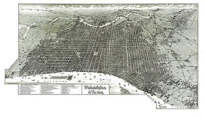 Philadelphia - Pennsylvania - United States - 1887 Poster by Pablo Romero