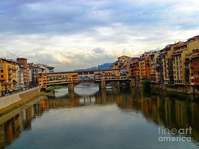 Ponte Vecchio's Padlocks Poster
