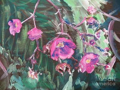 Ptg  Adirondack Wildflower Poster