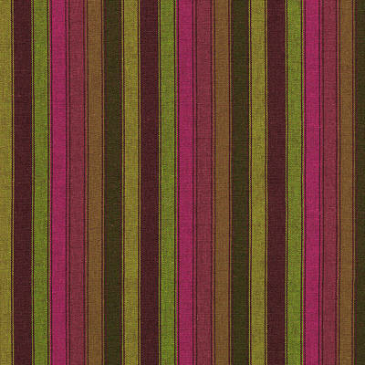 Purple And Green Striped Textile Background Poster by Keith Webber Jr