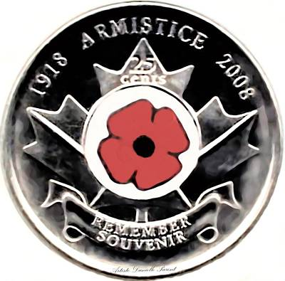 Remember Armistice Jour Du Souvenir  Poster by Danielle  Parent