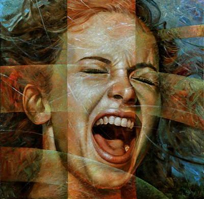 Scream 3 Poster by Arthur Braginsky
