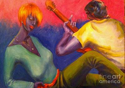 Sunset Serenade Poster by Beverly Boulet