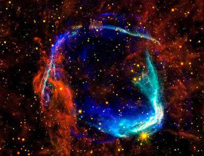Supernova Poster by Jennifer Rondinelli Reilly - Fine Art Photography