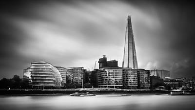 The Shard And City Hall London Poster by Ian Hufton