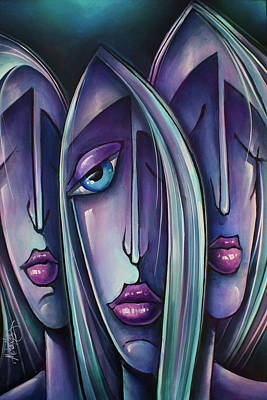 ' Trio ' Poster by Michael Lang