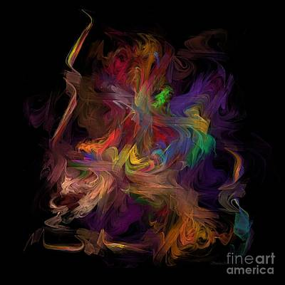 Veils Of Many Colors Poster by Madeline  Allen - SmudgeArt