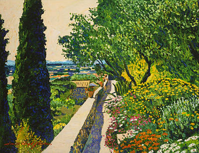 View Of Provence Poster