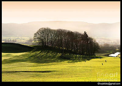 Wensleydale Dusk Poster by Mike Hoyle