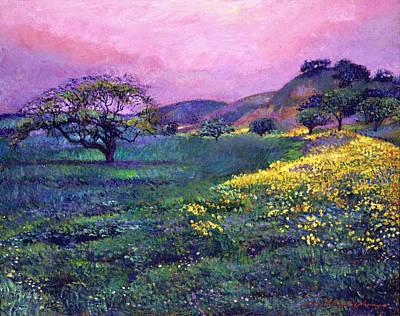 Wildflower Fields Poster
