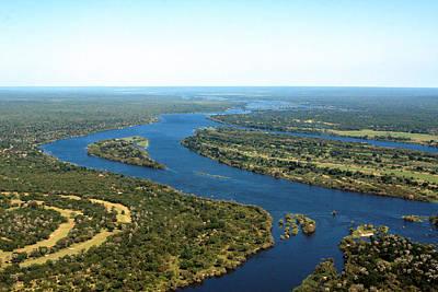 Zambezi River Poster by Aidan Moran