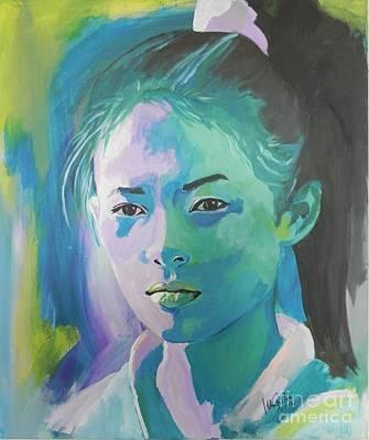 Zhang-ziyi Poster