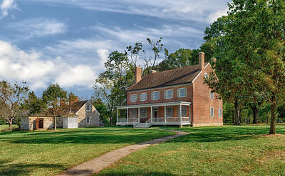 William Croghan House  -  Locust Grove Poster
