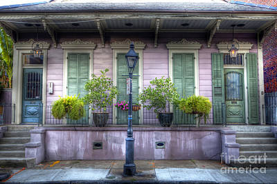 0267 French Quarter 5 - New Orleans Poster by Steve Sturgill