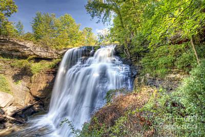 0302 Cuyahoga Valley National Park Brandywine Falls Poster