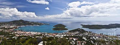 0457 St Thomas Us Virgin Islands Poster by Steve Sturgill