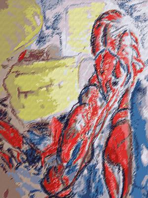 073114 Crawfish.jpg Poster by Garland Oldham