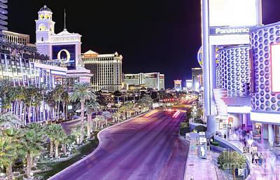 0745 Las Vegas Boulevard Poster by Steve Sturgill