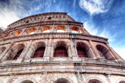 0796 Roman Colosseum Poster