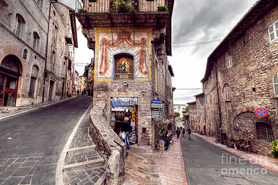 0801 Assisi Italy Poster