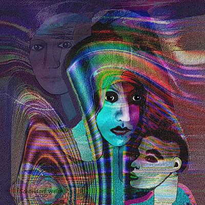 091 -   Madonna Arrabbiata ... Poster by Irmgard Schoendorf Welch