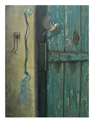 0ld Door Poster by Steven Wood