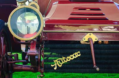 1906 Autocar Type 10 Runabout Grille Emblem Poster