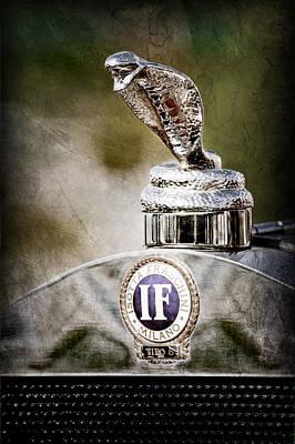 1924 Isotta-fraschini Tipo 8 Torpedo Phaeton Hood Ornament - Emblem Poster by Jill Reger