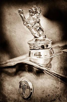 1927 Franklin Sedan Hood Ornament Poster by Jill Reger