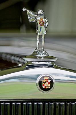 1929 Cadillac 1183 Dual Cowl Phaeton Hood Ornament Poster by Jill Reger