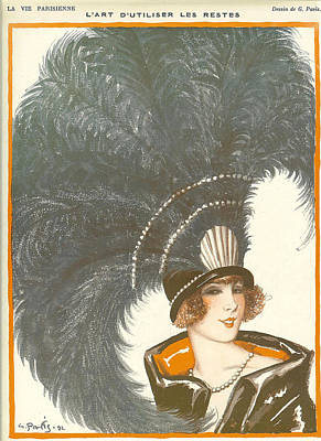 1930s France La Vie Parisienne Magazine Poster by The Advertising Archives