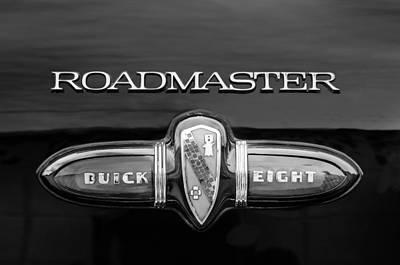 1939 Buick Eight Roadmaster Emblem Poster by Jill Reger