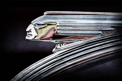 1939 Pontiac Silver Streak Chief Hood Ornament Poster