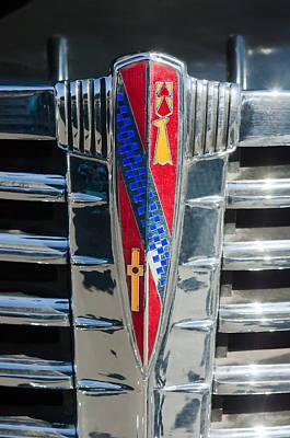 1941 Buick Eight Special Emblem Poster by Jill Reger