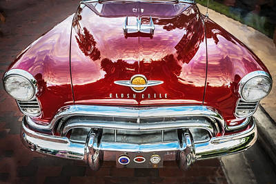 1950 Oldsmobile 88 Futurmatic Coupe  Poster by Rich Franco