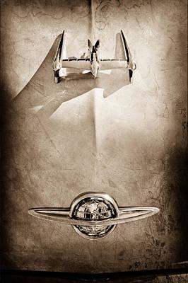 1950 Oldsmobile Hood Ornament Poster